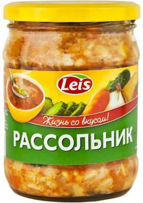 Sopa de pepinos salados RASSOLNIK 10x480gr LEIS