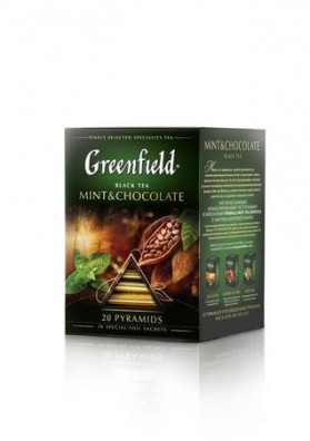 Te Greenfield en piramidasMINT&CHOCOLATE 20x1.8g