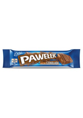 Barrita de chocolatePAWELEK chocolate 24x45gr E.WEDEL