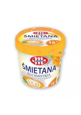 Crema agriada 18%grasa 1kg MLEKOVITA