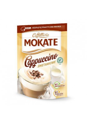 CapuccinoMOKATE sabor crema 10x110gr CAFFETTERIA