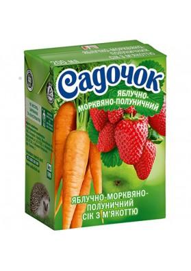 Zumo de manzana-zanahoria-fresa 27x0.2L SADOCHOK