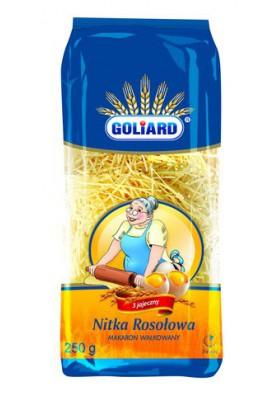 Fideos de huevo NITKA ROSOLOWA 18x250gr GOLIARD