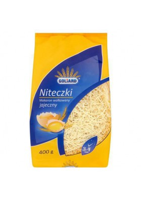 Pasta  NITECZKI 15x400gr GOLIARD