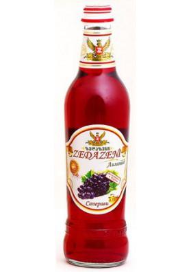 Refresco con gas sabor uva 20x0.5L ZEDAZENI