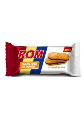 Galletas sandwich con crema de rom 24x36gr ROM
