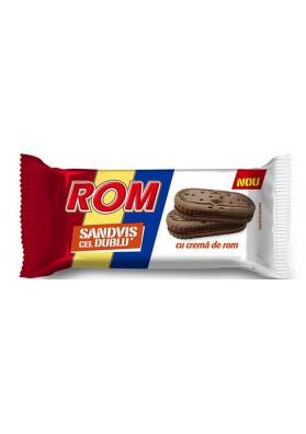 Galletas de cacao sandwich con crema de rom 24x36gr ROM