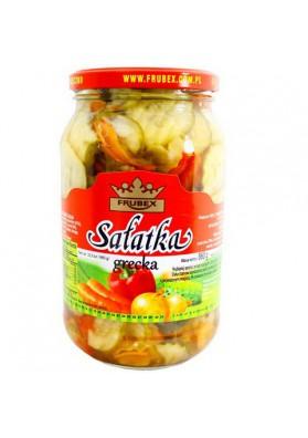 Ensalada de verduras  GRECKA  8x860gr FRUBEX