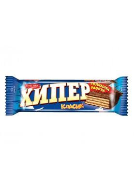 Barquillos en chocolate HYPER CLASSIC 25x55gr PRESIZH