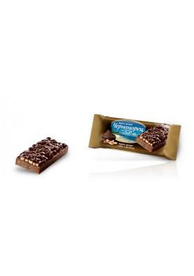 Barquillos con sabor de cacao y cacahuete 24x80gr CHERNOMOREC