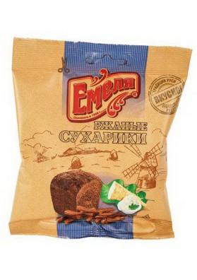 Picatostes de pan de centeno sabor rabano 60x40gr EMELYA
