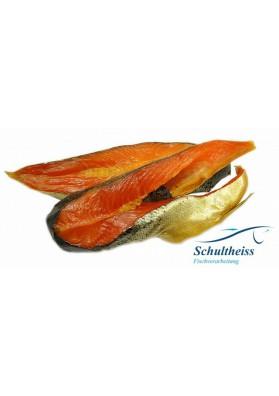 Trozos de salmon ahumado de peso aprox.5kg SCHULTHEISS