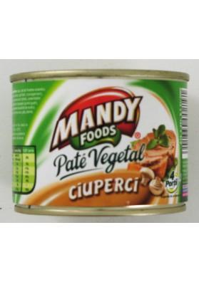 Pate vegetal con setas 6x200gr.MANDY