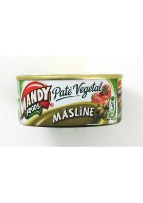 Pate vegetal con olivas 6x120gr MANDY