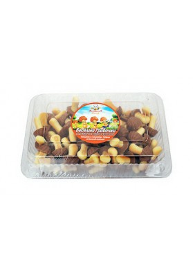 Galletas VESELIE GRIBOCHKI glaseado sabor caramelo 12x250gr VP