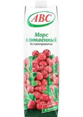 Mors de arandano rojo 12x1L ABC