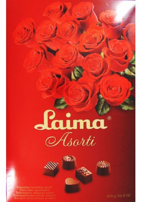 Асcорти шоколадных конфет ЛАЙМА 470гр