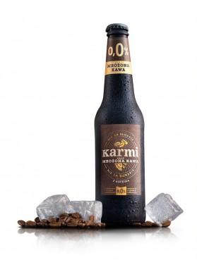 Cerveza con sabor de cafe helado 0.0%alc.400ml.KARMI nuevo