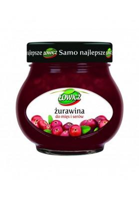 Confitura de arandano rojo 8x230gr.LOWICZ