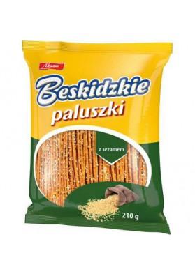 Palitos de pan con sesamo BESKIDZKIE 210gr. AKSAM nuevo