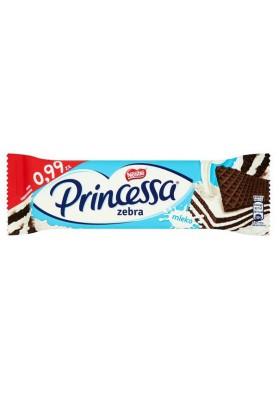 Barquillos Princessa en chocolate  ZEBRA 30x33gr NESTLE