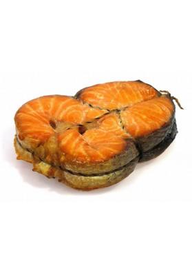 Salmon trozedo ahumado (semga noruego) 4kg LEMBERG