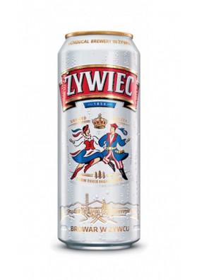 Cerveza ZYWIEC (1856) 5,6%alc.24x0,5L.enlatada nuevo