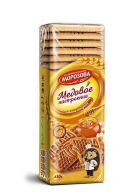 Galletas de azucar ESTADO DE ANIMO DE MIEL 430gr.MOROZOV