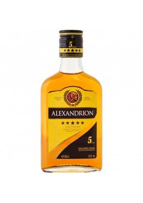 Brandy ALEXANDRION 5* (bebida espirituosa) 37,5%alc.200ml.RUMANIA