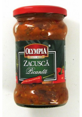 Entrante de verduras picante ZAKUSKA 6x314ml.OLIMPIA
