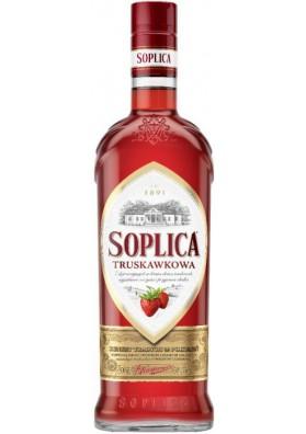 Vodka SOPLICA con sabor de fresa 30%alc.500ml.POLONIA