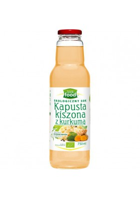 Zumo de COL ACIDA CON CURCUMA (ecologico) 750ml.LOOK FOOD