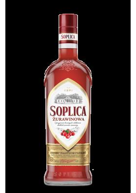 Vodka SOPLICA con sabor arandano rojo 30%alc.500ml.POLONIA