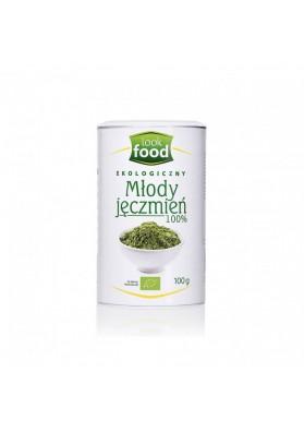 Hierba de Cebada en Polvo  MLODY JECZMIEN 100% Natural 5x100gr LOOK FOOD