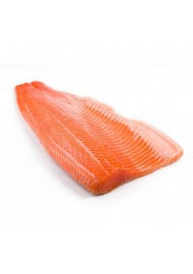 Filete de salmon de NORUEGA ahumado  por peso SCHULTHEISS