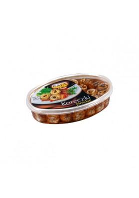 Filete de arenque KORECZKI PIRACKIE (rollos) en salsa agridulce 230gr.RAFA