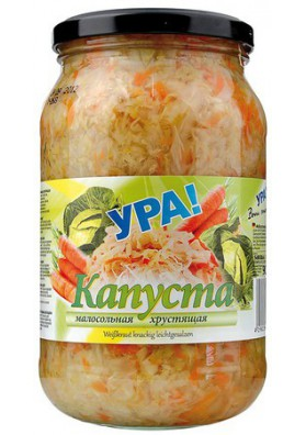 Col pocosalada con zanahoria 12x900gr.YRA