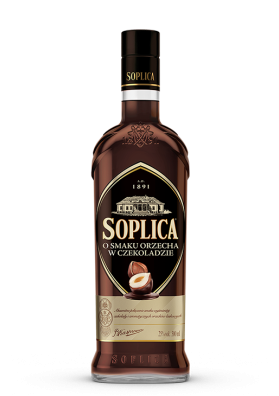 Vodka SOPLICA con sabor a nueces en chocolate 25%alc.500ml.POLONIA