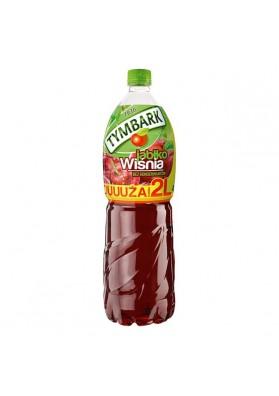 Bebida refrescante sabor manzana-guinda 2L TYMBARK