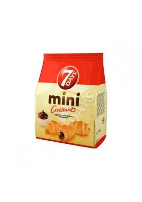 Mini croissant con crema de cacao y vanilla 8x185gr 7DAYS