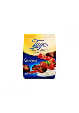 Melindre en chocolate relleno de fresa 12x160gr TAGO