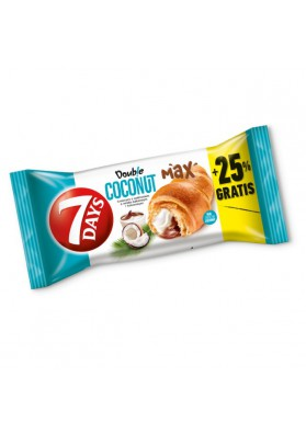 Croisante con crema de cacao y coco 18x110gr 7DAYS