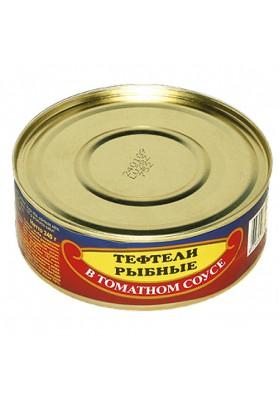 Albondigas de pez en salsa de tomate 48x240gr BV