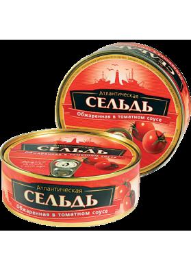 Arenque frito en salsa de tomate euro tapa 48x240gr BV