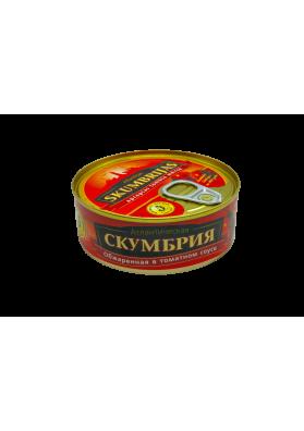 Caballa frita en salsa de tomate euro tapa 48x240gr BV