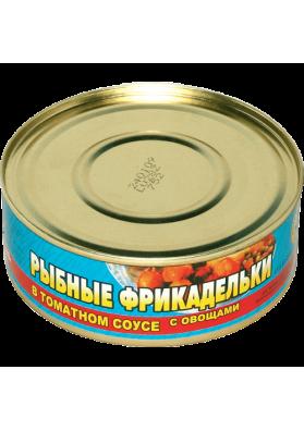 Albondigas de pescado con verdura en salsa de tomate 48x240gr BV
