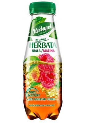 Bebida de frutas TE FRIO con sabor a frambuesa 300ml.HERBAPOL