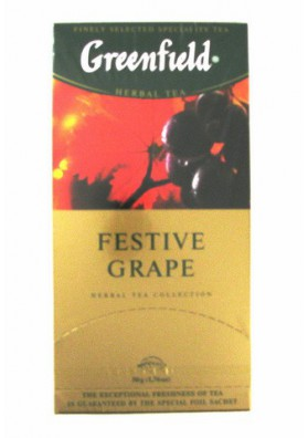 Te GREENFIELD  Festive Grape 10x25x2gr