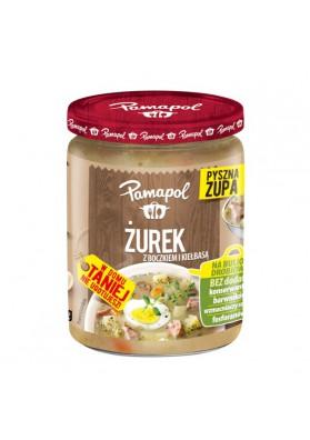 Sopa  ZUREK con salchicha y rabano 4x500gr PAMAPOL