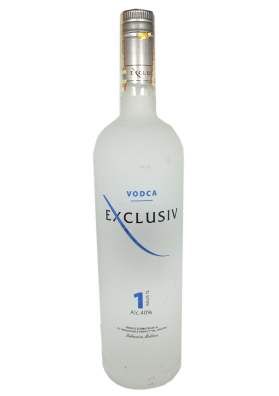 Vodka EXCLUSIV (5 veces destilado) 40%alc.1L.MOLDAVIA